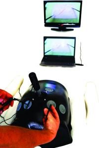 Tek başına egzersiz için geliştirilmiş kamera portu